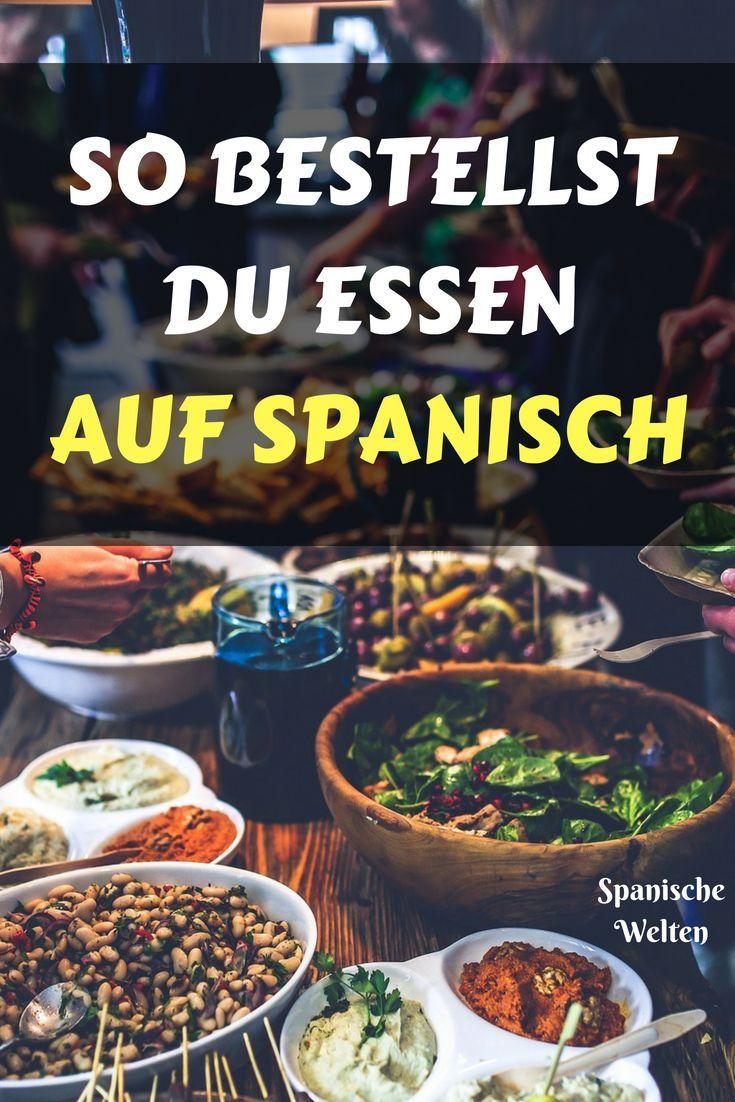 So bestellst du auf Spanisch im Restaurant