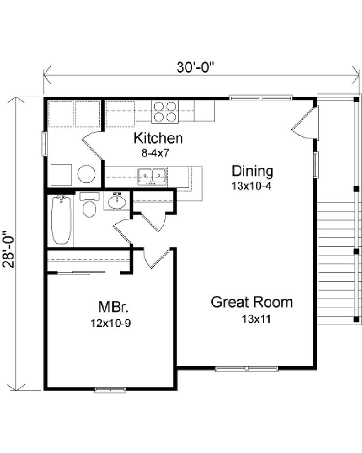 Plan W2225sl One Story Garage Apartment: 20 Best Mother In Law Apartment Images On Pinterest