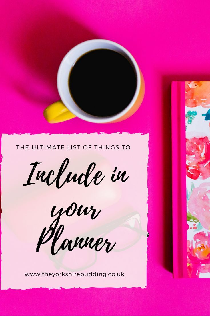 People use a planner, diary or schedule for different elements of life. Some keep everything they need to know, plan days, utilise every second of time & set goals. Others write important dates, birthdays and events, appointments and occasions. when setti