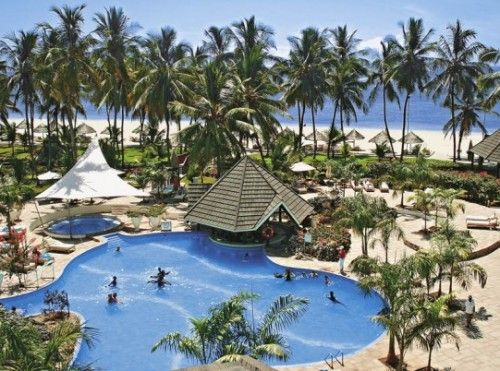 Diani Reef Beach Resort Spa In Mombasa Beachmombasa Kenyabeach Hotelsbeach