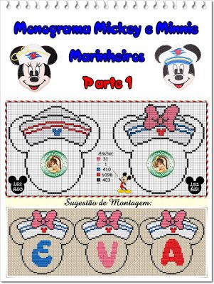 Mickey or Minnie cruising alphabet surround