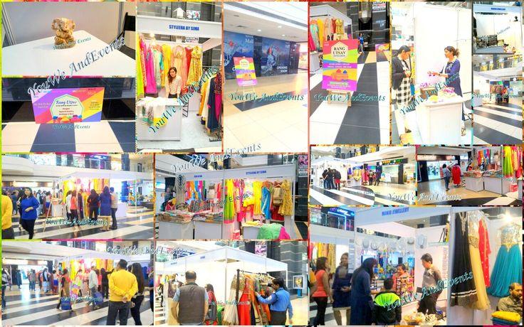 RANG Utsav by us at Wave Mall noida..here are the pics. #rangutsav #youweandevents