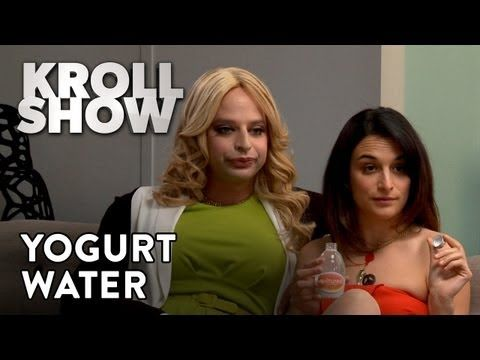 Kroll Show: PubLIZity - Yogurt Water - we could do this for halloween.