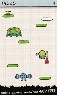 Doodle Jump – Free Hottest Mobile Games of all time
