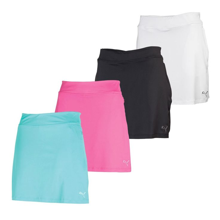 Women's PUMA Solid Knit Golf Skirt - PUMA Golf