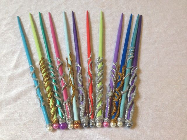 Wand prp hp party favor magic wand wizard wand fairy for Birthday wand