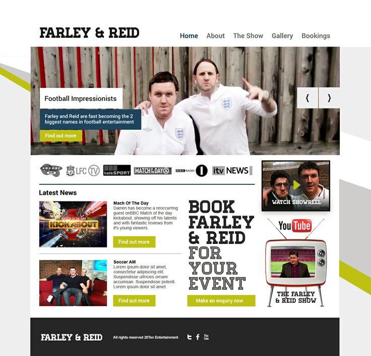 Darren Farley responsive website design