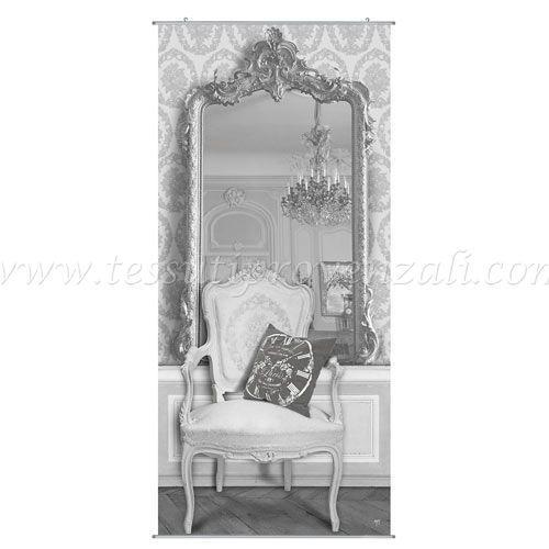 """Tela / quadro decorativo trompe l'oeil """"Miroir"""" Mathilde M."""