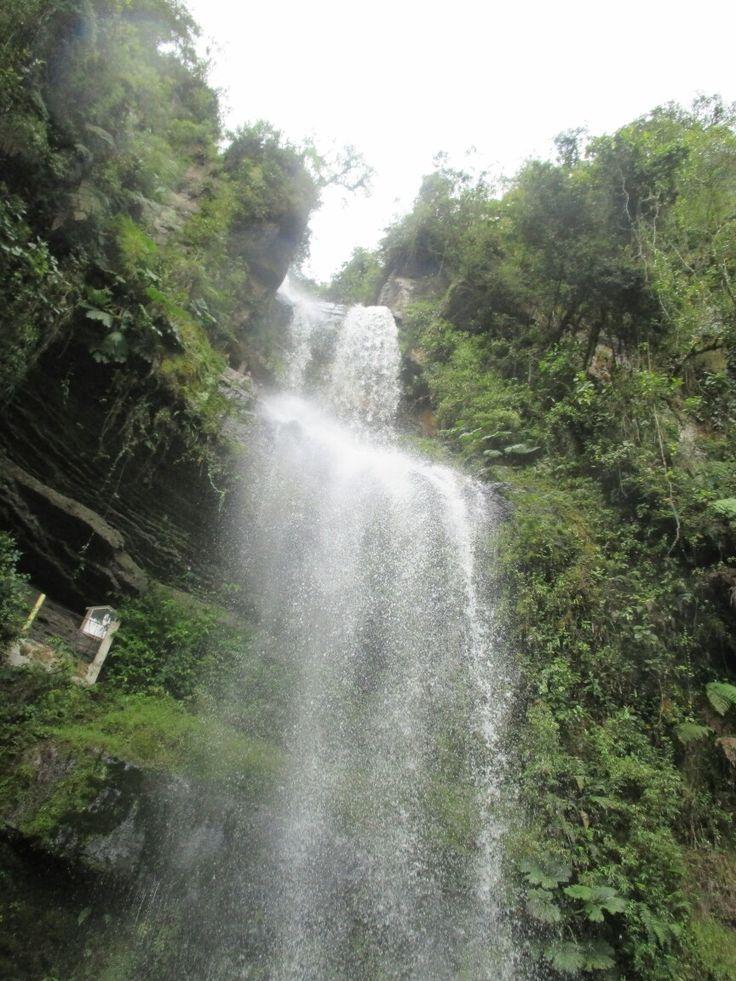 #Waterfall #Cundinamarca #Choachi El chilflon