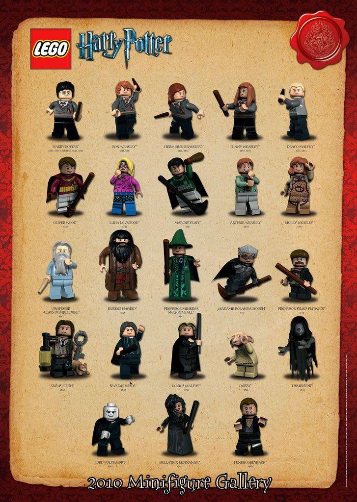 image result for lego harry potter minifigures 2018 lego lego rh pinterest co uk
