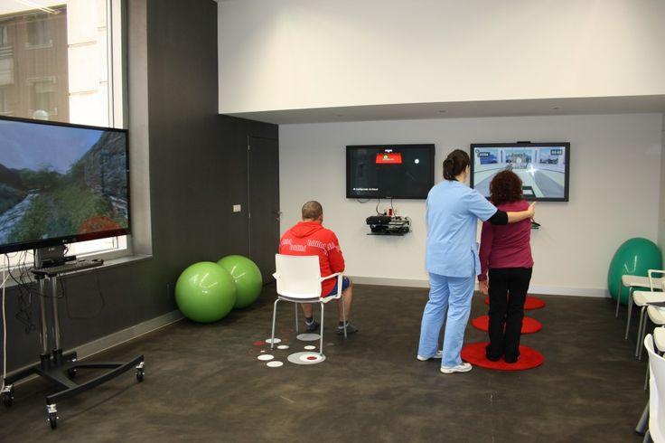 Un centenar de personas con Esclerosis Múltiple de Bizkaia mejora su condición física gracias a la rehabilitación virtual - BBK Innova Sarea...