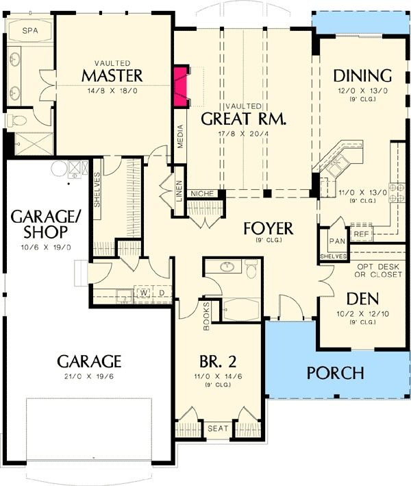 953 best house plans small er images on pinterest for Small craftsman house plans with garage
