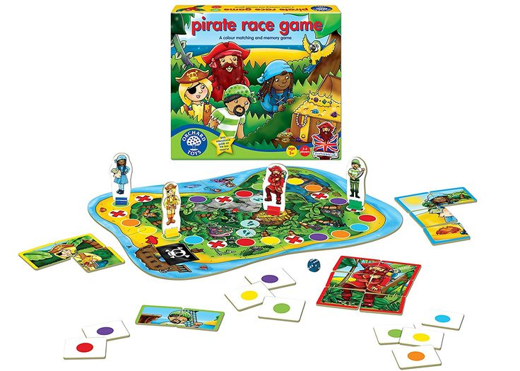 Orchard Pirate Race Game