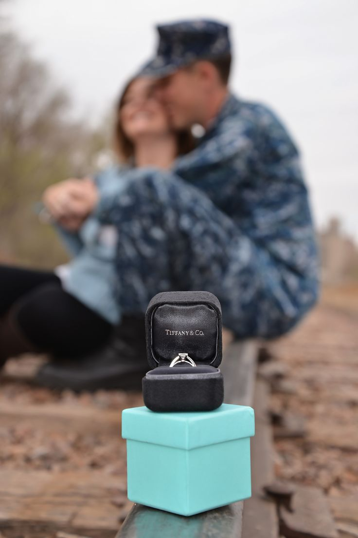Tiffany & Co. Engagement. USN, US Navy, Military love, Sailor's girlfriend. #tiffany&co #USN #engagement #militaryengagement #inlove