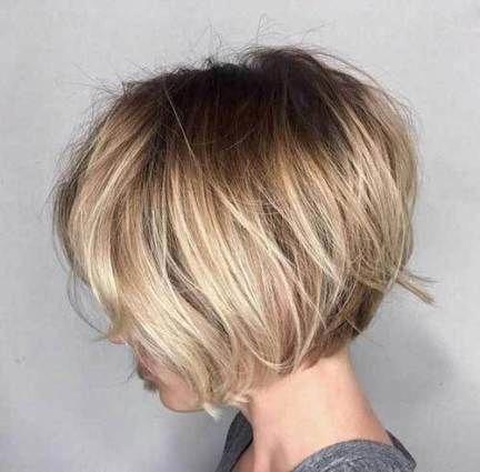 Short Haircut Thin Hair