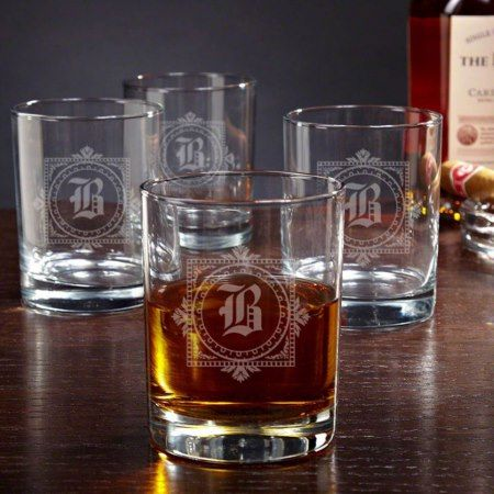 Winchester Personalized Whiskey Glasses - tap, personalize, buy right now!