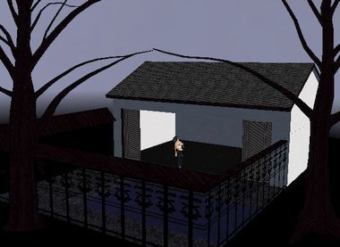 Haunted house (textured for IMVU)
