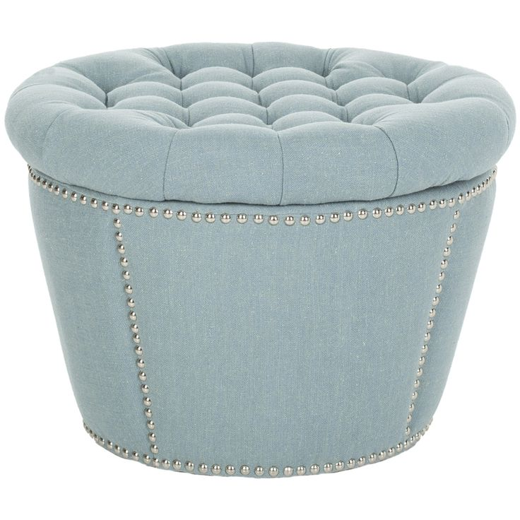 Safavieh Florence Tufted Round Storage Ottoman by Safavieh - 25+ Best Ideas About Round Storage Ottoman On Pinterest Ottoman
