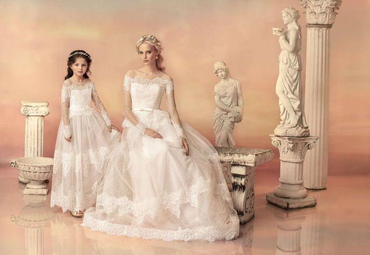 Con Vestidos de Novia Corte Imperio te sentirás como una diosa griega, sí, como esas deidades que en la mitología se les atribuían la perfección de la bel