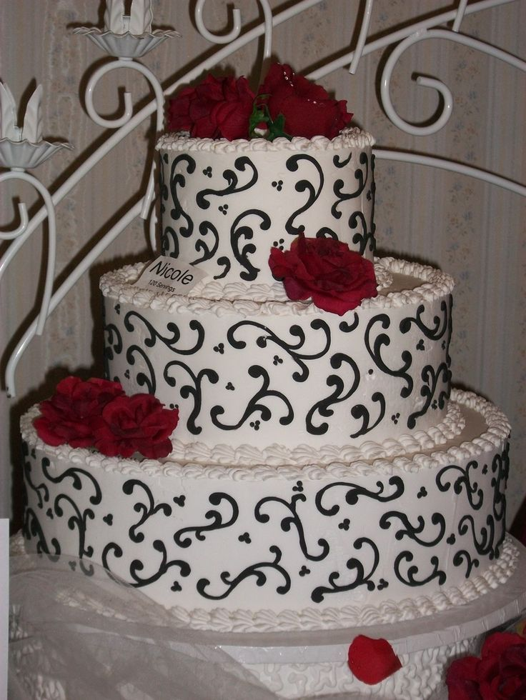 All Three Colors Find This Pin And More On Wedding Cake Ideas
