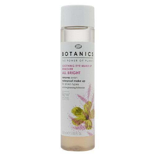 Boots Botanics All Bright Soothing Eye Makeup Remover 507 fl oz -- Click image to review more details. (Note:Amazon affiliate link)