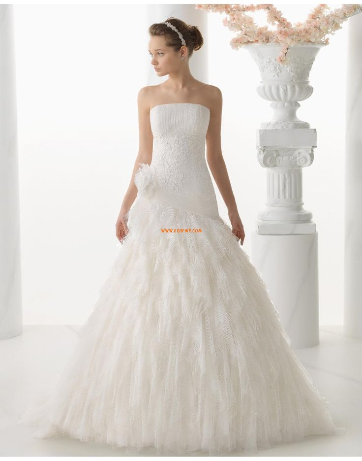 Spring Sleeveless Natural Wedding Dresses 2014