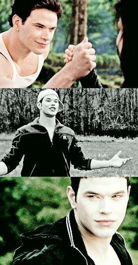 Emmet in Breaking Dawn 2, Twilight and Eclipse