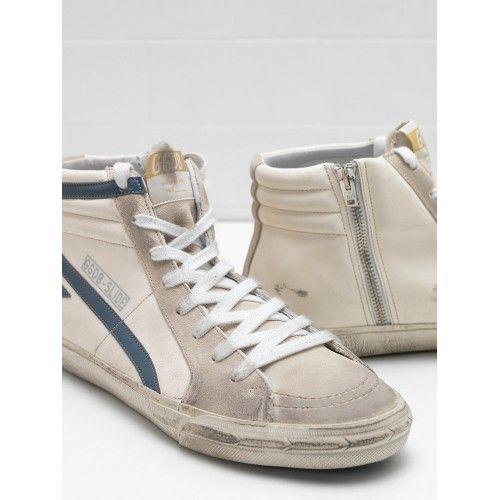 Golden Goose Pas Cher - Basket Pas Cher 2017 Golden Goose Homme Slide Sneakers G31MS595.Q6