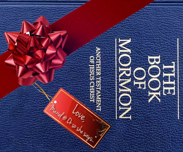 I Love the Book of Mormon (& it's my gift to you.) www.oneshetwoshe.com