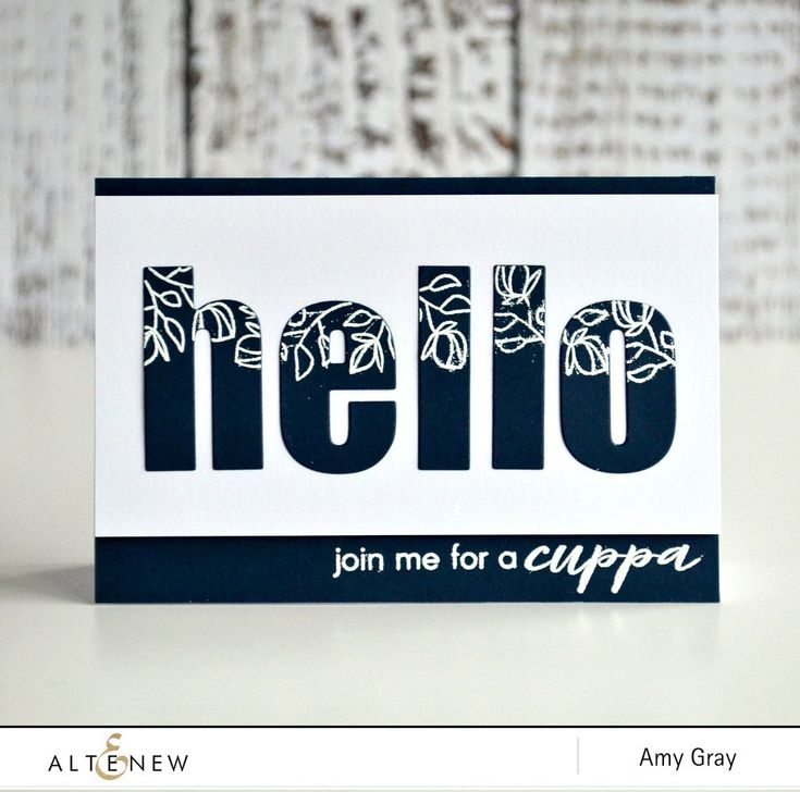 Hello there! Check our blog to learn how to make this amazing card with a bold sentiment between a frame.  http://altenewblog.com/2016/11/25/stamp-focus-vintage-teacup/