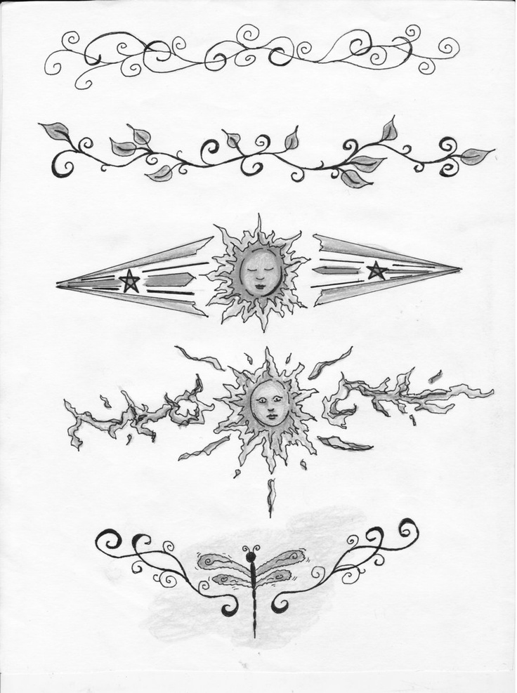 bracelet tattoos designs white ink | Ankle Tattoo Designs by *ladydyer2000 on deviantART