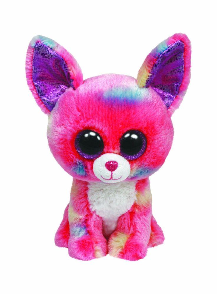 amazoncom ty beanie boos glamour leopard plush pink