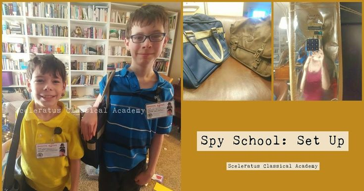 There are so many cool things and ideas on Pinterest  to make Spy School an immersive experience. I tried to keep it easy, cheap, and re...
