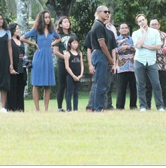 #BarackObama and His #Family in the #Historic #City of #Yogyakarta in #Java 6/28/17. #TheObamas #FamilyVacation �#44thPresident #BarackObama #FirstLady #MichelleObama & Their #Daughters #MaliaObama & #SashaObama #Indonesia #Vacation Barack Obama #lived there in the 1960s after his mother Ann Dunham married second husband Lolo Soetoro, a native #Indonesian