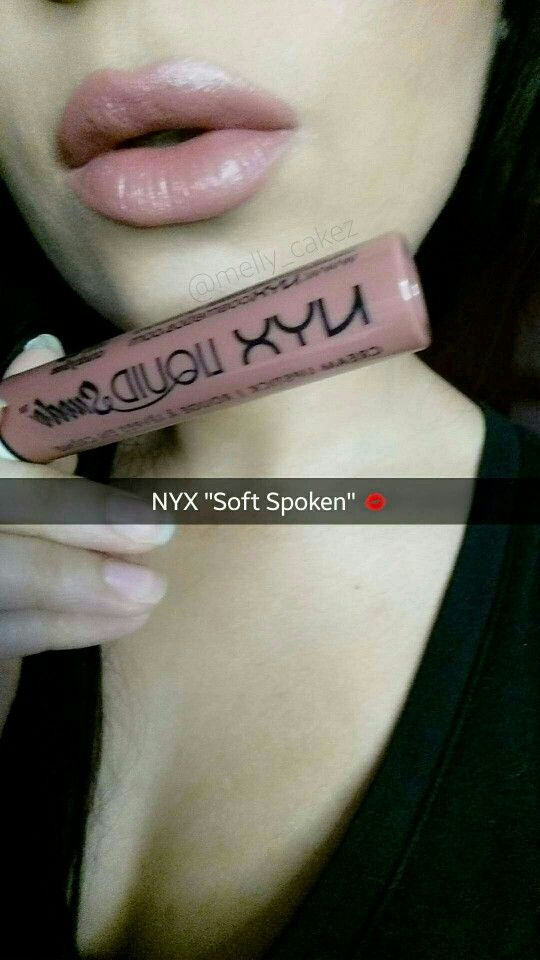 """NYX Cosmetics Liquid Suede Lipstick  """"Soft Spoken"""" DUPE for KYLIE LIP KIT"""