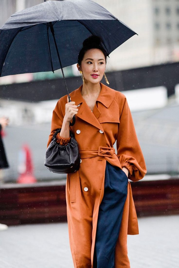 Spring Trends 2018: 7 Outfit Ideas for the Rainy Days  #Rainyoutfit #fashiondesign #springtrends  http://covetedition.com/fashion/spring-trends-2018-outfit-ideas-rainy-days/