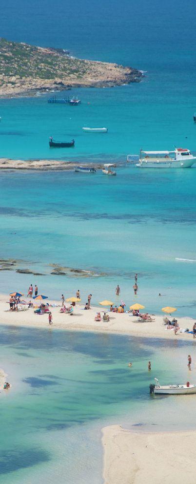 Balos Bay Gramvousa Crete Greek Islands, Greece.