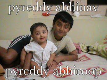 PYREDDY ABHINAV & ABHIROOP