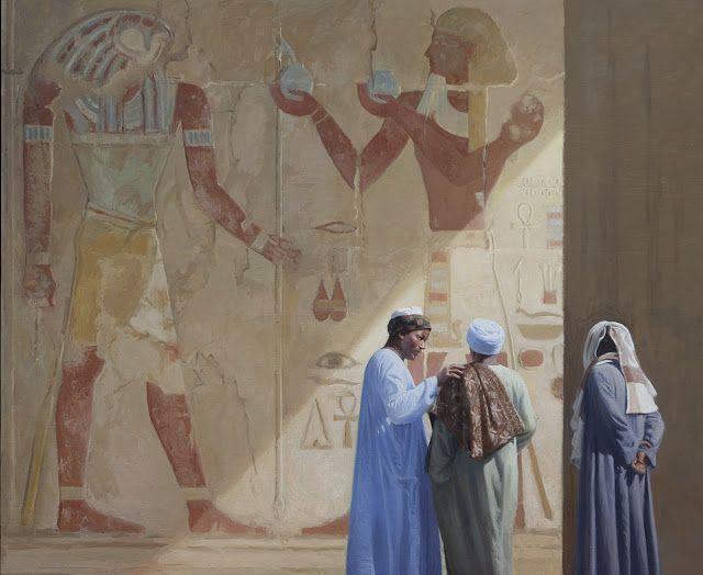 Ναοί εκατομμυρίων ετών Λάδι σε μουσαμά