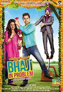Bhaji in Problem is an Punjabi comedy film directed by Smeep Kang, who had earlier directed films like Gippy Grewal and Lucky Di Unlucky Story . The film will be produced by Ashvini Yardi, and Bollywood actor Akshay Kumar who will also appear in the film shortly.This Movie is Latest Punjabi The film also features actor Om Puri and cricketer Harbhajan Singh.