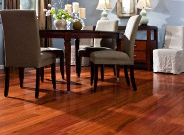 Select Brazilian Cherry Engineered by Bellawood   wood flooring   by Lumber  Liquidators467 best Get Inspired images on Pinterest   Lumber liquidators  . Flooring For Dining Room. Home Design Ideas