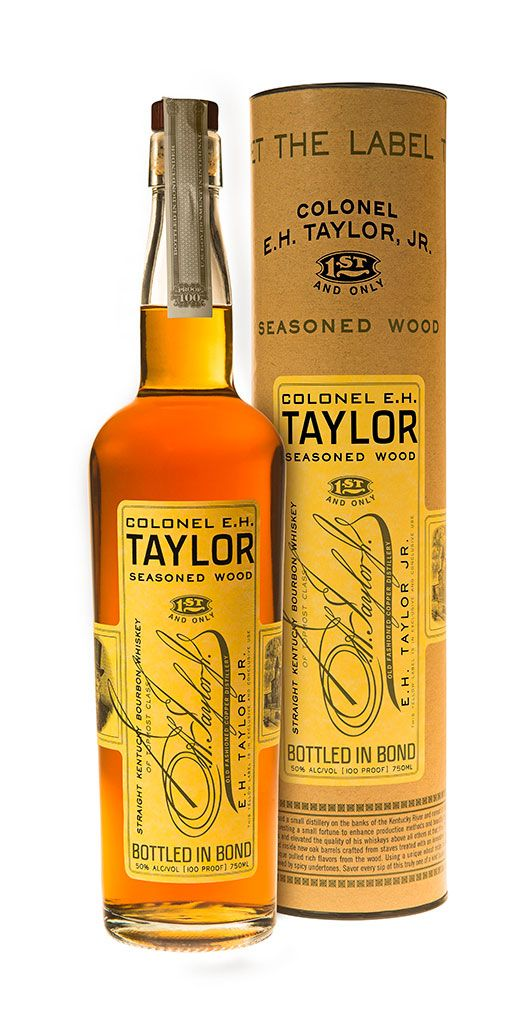 Buffalo Trace Distillery Releases Col. E. H. Taylor, Jr. Seasoned Wood Bourbon Whiskey