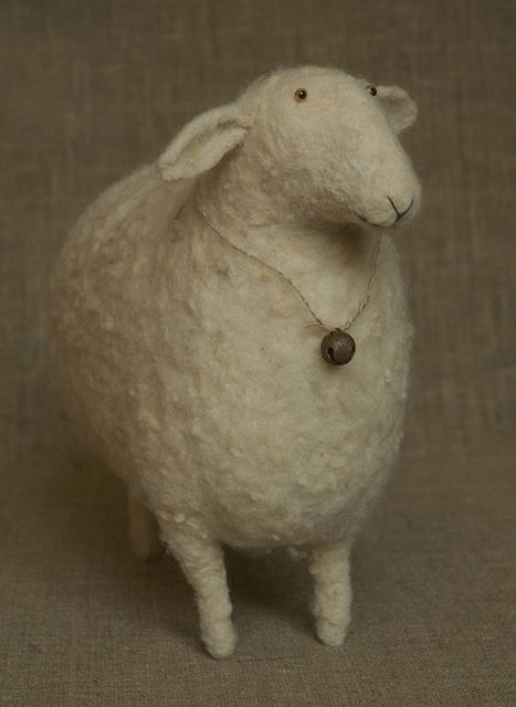 sweet felted sheep