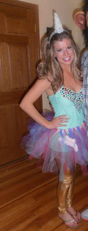 Halloween DIY: Ashley's Unicorn Costume