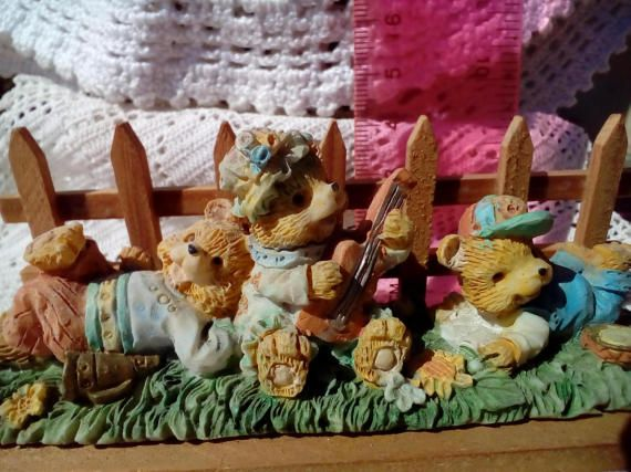 Cherished Teddies A set of cute Souvenirs