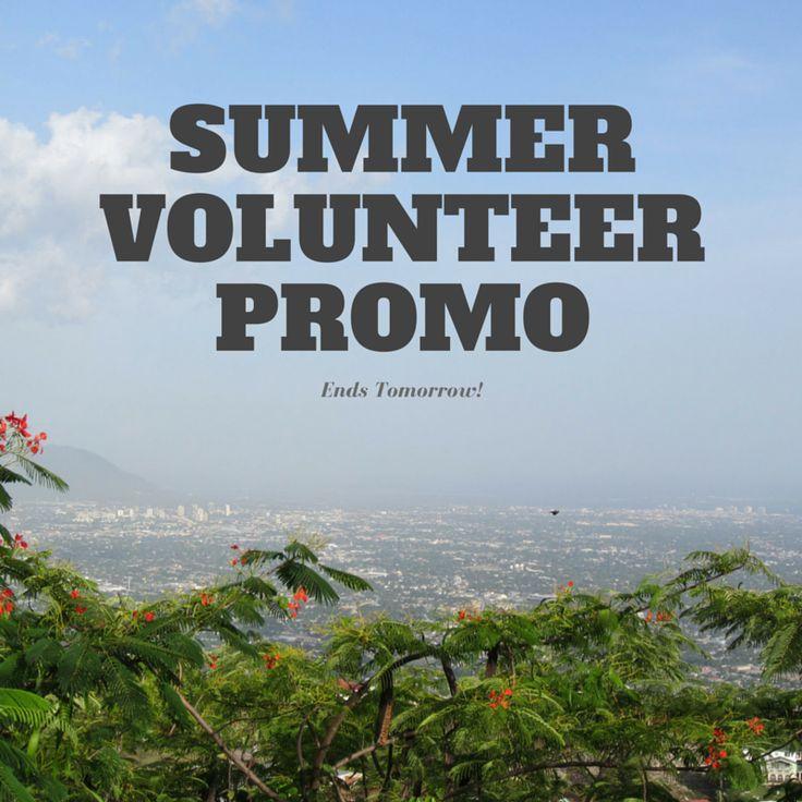$50 off summer volunteer programs! Promo ends TOMORROW, so get your application in!  #volunteerabroad #summervolunteer #summerabroad #promo #travel #wander #worldendeavors #changeyourworld