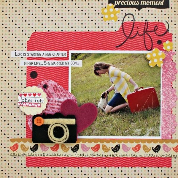 1 photo + tabs + felt: Scrapbook Journ, Scrapbook Ideas, Scrapbook Cards, Scrapbook Inspiration, Scrapbook Galleries, Scrapbook Layout, Scrapbook Memories, Kim Sharp, Scrapbook Life