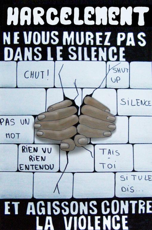 """Dites """"Non au harcèlement scolaire !"""" - Letudiant.fr"""