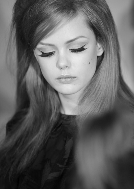 60s Style Makeup... I love it!!
