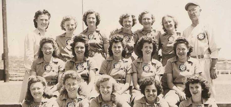 The All-American Girls Baseball League - Starke Frauen mit Rock und Baseball Schläger - die 1. Frauenbaseballliga von 1946   Rockabilly Rules Magazin
